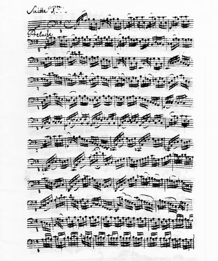 I used to be able to play almost all of the Bach Cello Suites (badly)