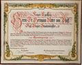 Bad Reichenhall - Ehrenbürgerurkunde Hermann Ritter von Pfaff (1912).png