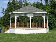 Bailey's Hill gazebo in Nahant, Massachusetts