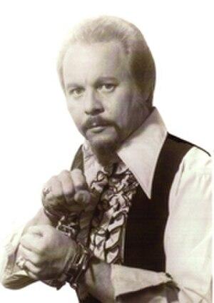 Steve Baker (illusionist) - Steve Baker promotional photo, ca. 1975