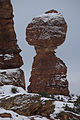 Balanced Rock, dusted with snow. (8421515404).jpg
