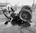 Baleset, traktor 1959 Fortepan 104129.jpg