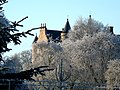 Balnagown Castle in winter - geograph.org.uk - 1099671.jpg