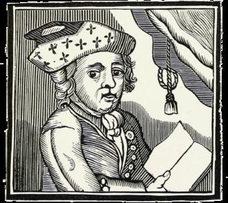 Bampfylde Moore Carew - Illustration of an 18th-century chapbook.