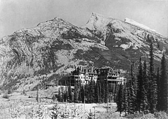 Banff National Park - Banff Springs Hotel, 1902