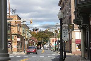 Bangor, Pennsylvania - 1st and Broad, Bangor PA