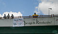 Banners and signs at demonstrations and protests against Chavismo and Nicolas Maduro government.jpg
