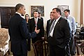 Barack Obama and Chris Christie in the White House.jpg
