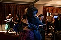 Barack Obama embraces his wife upon re-election.jpg