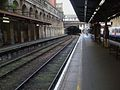 Barbican station Thameslink look west.JPG