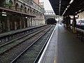 Barbican station Thameslink look west.JPG