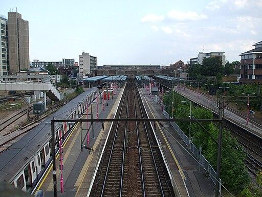 Barking station high eastbound