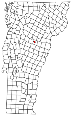 Location of Barre, Vermont