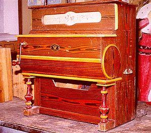 Barrel piano - A Faventia barrel piano