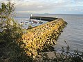 Barry Docks Entrance outer harbour wall - geograph.org.uk - 781779.jpg