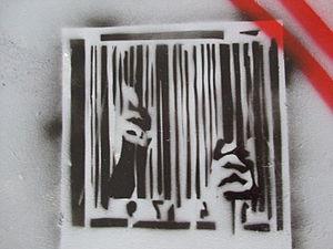Anti-consumerism - Anti-consumerist stencil art
