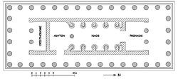 Floor plan of the Temple of Apollo
