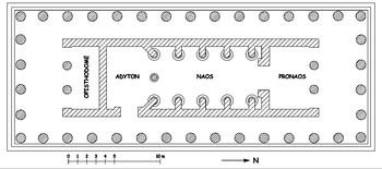Bassai Temple of Apollo Plan-fr