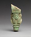Bat - Hathor emblem from a sistrum MET DP311613.jpg