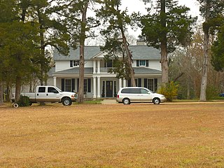 Battersea (Prairieville, Alabama) plantation house in Alabama, USA