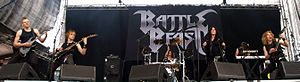 Battle Beast (band) - Battle Beast live in June 2011