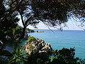 Bay north from Parga.JPG