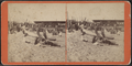 Beach scene, people and boat, from Robert N. Dennis collection of stereoscopic views.png