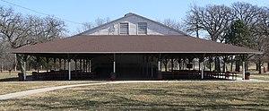 National Register of Historic Places listings in Gage County, Nebraska - Image: Beatrice, Nebraska Chautauqua Pavilion from E 2