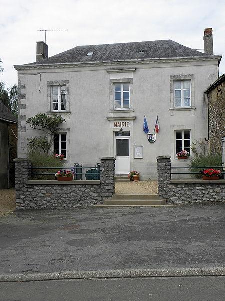 Mairie de Beaumont-Pied-de-Bœuf (53).