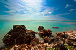 Alamparai Fort - Image: Beauty remains ruins in ECR