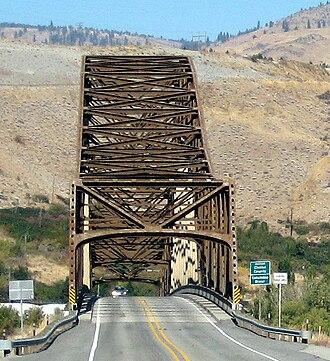 Beebe Bridge - Image: Beebe bridge crop