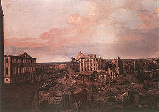 View of Dresden Ruins