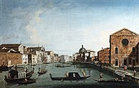 Bemberg Fondation Toulouse - Le Grand Canal à Sainte Lucie - Canaletto 1009.jpg