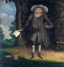 Benjamin Lay painted by William Williams in 1750