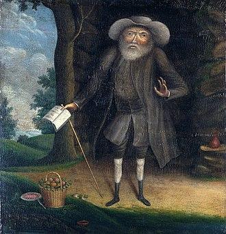 Benjamin Lay - Benjamin Lay painted by William Williams in 1750