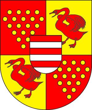 Bentheim-Steinfurt - Bentheim-Steinfurt arms from 1454–1589