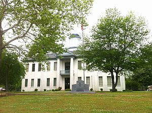 The Old Benton County courthouse in Ashland