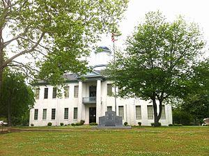 Benton County, Mississippi - Image: Benton County Mississippi Courthouse