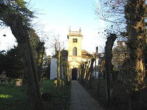 Berkley, Somerset - Image: Berkley Somerset church