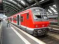 Berlin Ostbahnhof- auf Bahnsteig zu Gleis 3- S-Bahn Berlin- Zusatzverkehr 11.8.2009.jpg