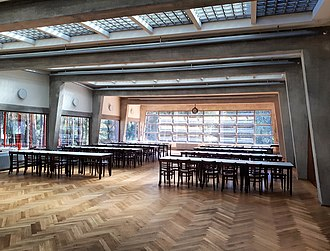 ADGB Trade Union School - Restored dining room, Meyer-Wittwer Building