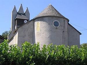 Berrogain-Laruns - The church of Berrogain