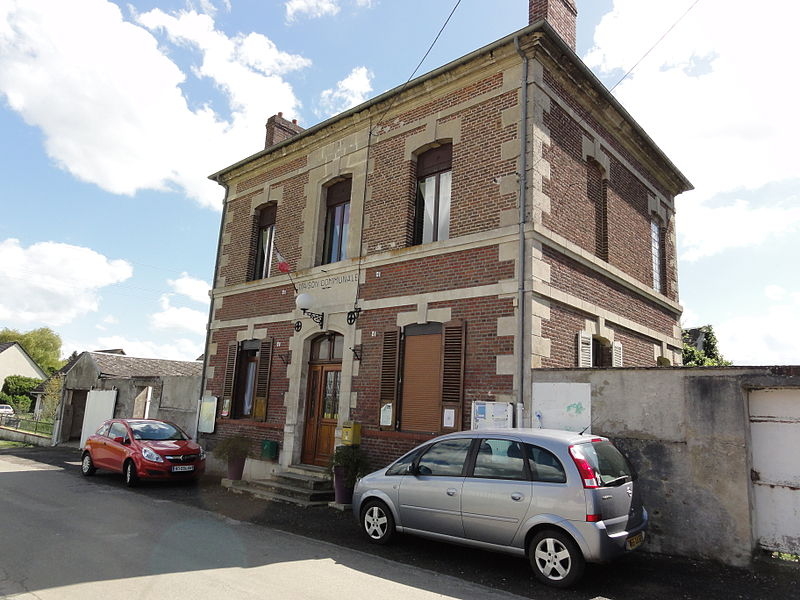 Bertaucourt-Epourdon (Aisne) mairie