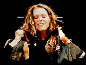 Beth Hart - Hart at Notodden Blues Festival, Norway 2009