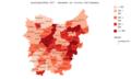 Bevolkingsdichtheid 2017 - Gemeenten van Provincie.png