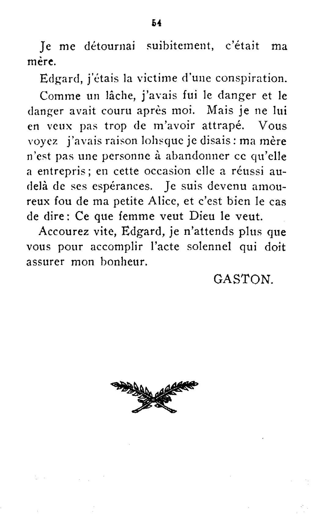 Page bibaud lionel duvernoy wikisource - Gaston ouvrard je ne suis pas bien portant ...