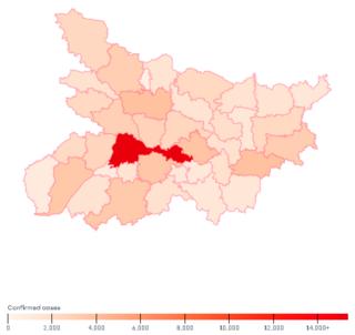 COVID-19 pandemic in Bihar Ongoing COVID-19 viral pandemic in Bihar, India