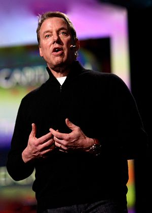 Ford in March 2011 speaking at the TED Conference
