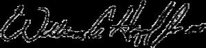 Bill Hazel - Image: Bill Hazel signature