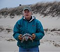 Bill and a Kemp Ridley's (6808132061).jpg